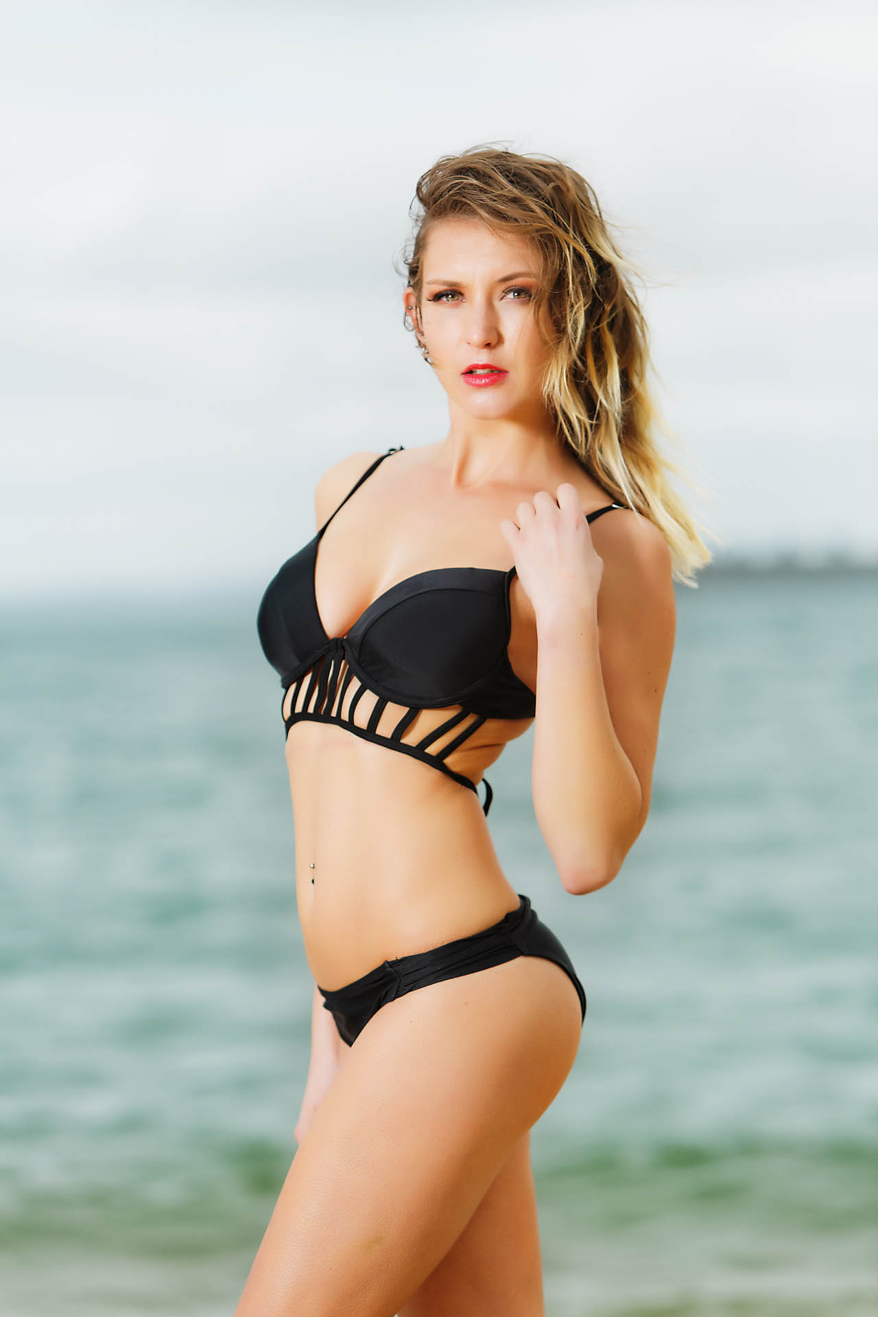 Swimwear Location Shoot with Em Maguire. Hair and makeup by Mariam Fleur Baraka.    Photography by Chris David @chrisdavidphoto